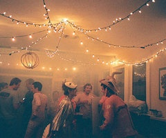 party lighting ideas. christmas lights on the ceiling for a holiday party lighting ideas g