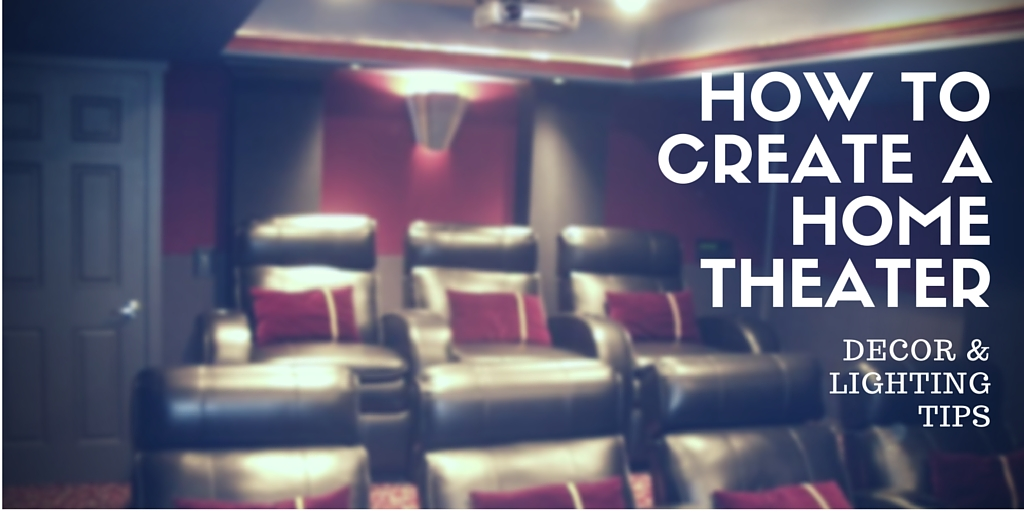 How to create a home theater room decor and lighting tips from fabby for How to design my home interior