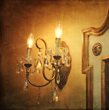 Vintage Two Bulb Wall Sconce