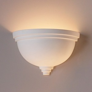 Bowl sconce for home theater