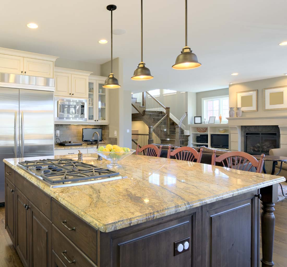 Hanging Kitchen Lights Over Island: Pendant Lighting Fixture Placement Guide For The Kitchen