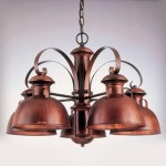 Rustic Barnlight Chandelier