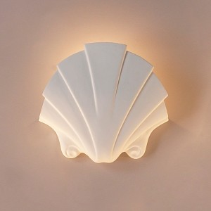 Seashell Themed Sconce